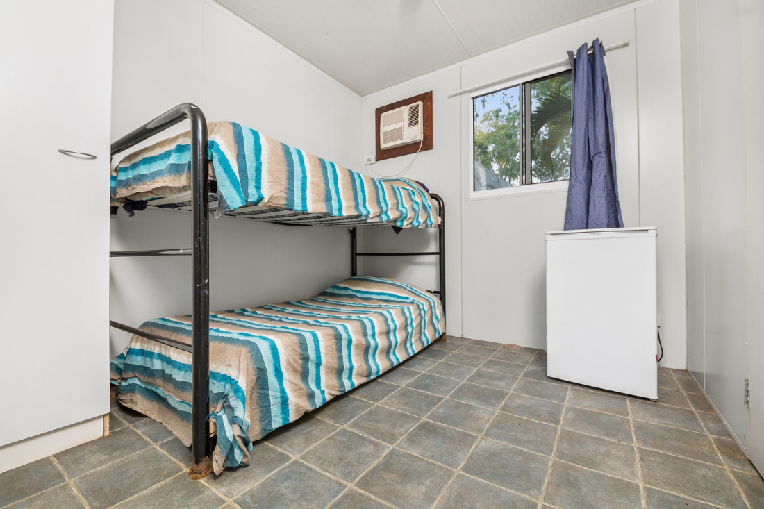 Bunk Beds in a Ensuite Cabin